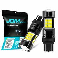 JDM ASTAR 2x 7443 High Power 1600LM Super White LED Backup Reverse Light Bulbs