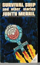 Survival Ship and Other Stories - PB 1973 Vintage - Judith Merril