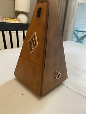 Wittner Metronom #9138 Excellent Working Condition Wood Case Made in W. Germany