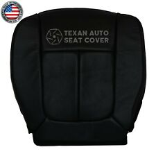2014 Ford F150 Lariat XLT Single Cab FX4 Driver Bottom Leather Seat Cover Black