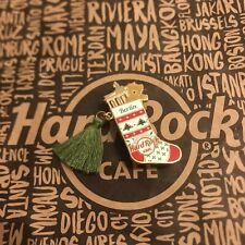 Hard Rock Cafe HRC BERLIN CHRISTMAS STOCKING WEIHNACHTEN Pin Limited Edition
