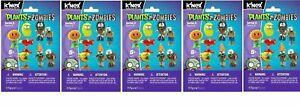 Bundle - K'NEX Plants Vs Zombies Series 3 Blind Bag X5 - 5 Packs Supplied