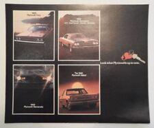 PLYMOUTH orig 1969 USA Brochure - Barracuda Fury VIP GTX Satellite Road Runner