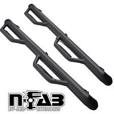 "N-Fab 3"" Cab Length Nerf Step Bars Fits 2002-2008 Dodge Ram 1500 Quad Cab 4Door"