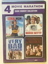 Dark Comedy Collection: 4 Movie Marathon (DVD, 2011, 2-Disc Set) (NEW)