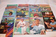 Lot Of 17 Sports Illustrated Vintage Magazines - MLB BASEBALL 1970's