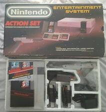 Nintendo Entertainment System Action Set Gray Console gray zapper