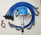 FORD SMALL BLOCK 260 289 302 BLUE HEI DISTRIBUTOR + 8.5mm SPARK PLUG WIRES USA  for sale