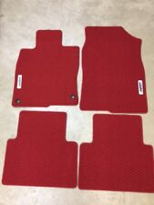 Genuine OEM Honda Civic 4dr 5dr Red Carpet Floor Mat Set 2016 - 2018 Mats