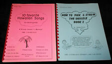 Hawaii 2 Kimura Ukulele Books 10 FAVORITE HAWAIIAN SONGS-PICK & STRUM UKULELE