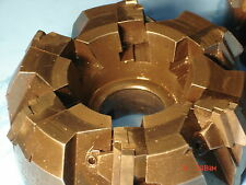 """FACE MILLS GREENLEAF CORP MILLING CUTTERS / 6"""" DIAMETER one Right one Left"""