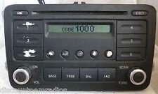 06 07 08 09 VW VOLKSWAGEN Jetta Passat Golf Eos Radio Player CD 1K0035161A