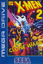 # Sega Mega Drive-X-Men 2 Clone Wars-Top/MD juego #