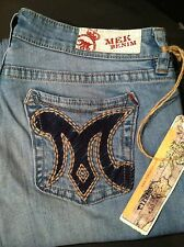 Women's MEK Denim By Miss Me Cypress Slim Boot Jeans Size 25 Or 27 $128