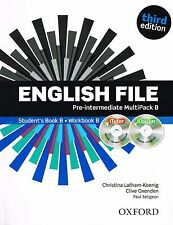 ENGLISH FILE Pre-Intermediate Third Edition MultiPack B w iTutor + iChecker @NEW