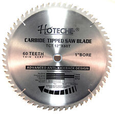 3PC Carbide Tipped Saw Blade 12in x 60T