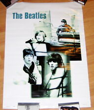 BEATLES POSTER - issued by Toshiba / EMI in early 1980's for CD Releases!
