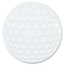 White Golf Ball Shaped Markers with dimples - Package of 2