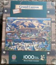 GRAND CANYON 1000 PIECE DOWDLE PUZZLE IN LUGGAGE SUITCASE BOX MASTERPIECES NEW