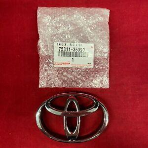 New OEM Toyota Logo Emblem 4Runner Truck 75311-35090 MADE IN JAPAN