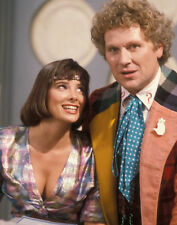 Colin Baker and Nicola Bryant UNSIGNED photo - H8051 - Doctor Who