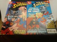 Team Superman#1 & TS Secret Files #1 (1998) [Superboy, Supergirl, Steel]Jeanty