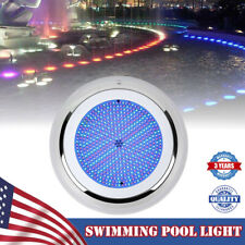 Fountain Swimming Pool Light Color Changing Bulb 252 Rgb Led Stainess waterproof