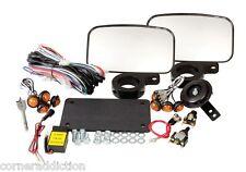 TUSK UTV Horn and Signal Kit with Mirrors Polaris Ranger 500 700 800 6x6