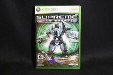 Supreme Commander (Microsoft Xbox 360, 2008)