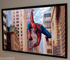 """54""""x31"""" Movie Projector Projection Screen Material BARE Commercial Grade Fabric!"""
