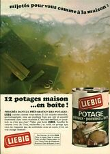 Publicité ancienne potage Liebig 1968 issue de magazine