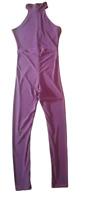 BOOHOO women,s jumpsuit Sleeveless magenta purple colour. Size 8