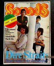 Sounds 08/79 Cover: Dire Straits,Steele Pulse,Jeff Beck,Steve Forbert,Peter Tosh