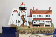 Harbour Lights Lighthouse #279 Turkey Point, Md orig box Coa and Uniquely signed