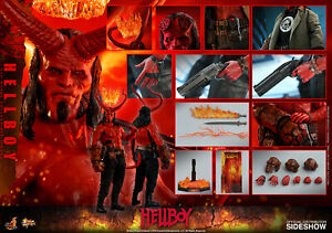 Hot Toys Hellboy 2019 1/6 Scale Collectible Figure In Stock USA MMS527