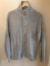 Genuine Men's Tommy Hilfiger Cardigan, 10% Wool, Size Medium, Good Condition