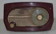 Récepteur radio TSF à lampes Philips B1F103 A Philetta  à restaurer