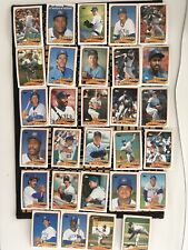New listing 1989 TOPPS LOT 29 MILWAUKEE BREWERS GARY SHEFFIELD RC, PAUL MOLITOR AND MORE