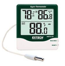 Extech grande dígitos Interior/exterior higro-termómetro sonda con Control Remoto