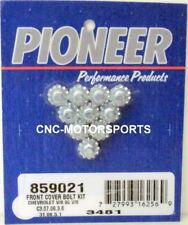 Pioneer 859021 SBC SB Chevy BBC BB Chevy and V-6 Timing Cover Bolt Kit 350 454