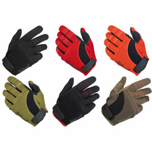 Biltwell Moto Motorcycle Riding Gloves All Sizes All Colors Sizes