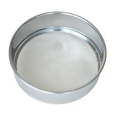 Kitchen Round Mesh Sugar Flour Sifter Strainer - Stainless Steel T1