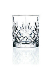 RCR Set of 6 Melodia Whisky Whiskey Italian Crystal Tumblers Glasses 23cl 230ml