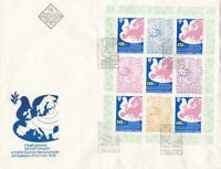 bulgaria  very  large europa  stamps cover ref r15820