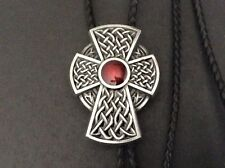 New Celtic Iron Cross Knot Bolo Tie