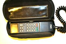 OKI UM9038 Car Cell Phone w/ logo carrying case - Vintage 1990s