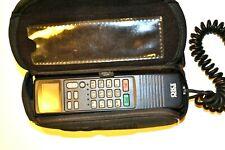 OKI UM9038 Car Cell Phone w/ logo carrying case - Vintage 1990s