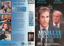 ABSOLUTE STRANGERS - VHS - PAL - NEW - Never played! - Original Oz release