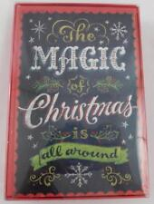 American Greetings Holiday Christmas Cards New 16 Magic of Christmas