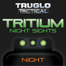 New 2017 Truglo Tritium Sight Glock 17 17L 19 22 23 24 26 27 33 34 35 38 TG231G1